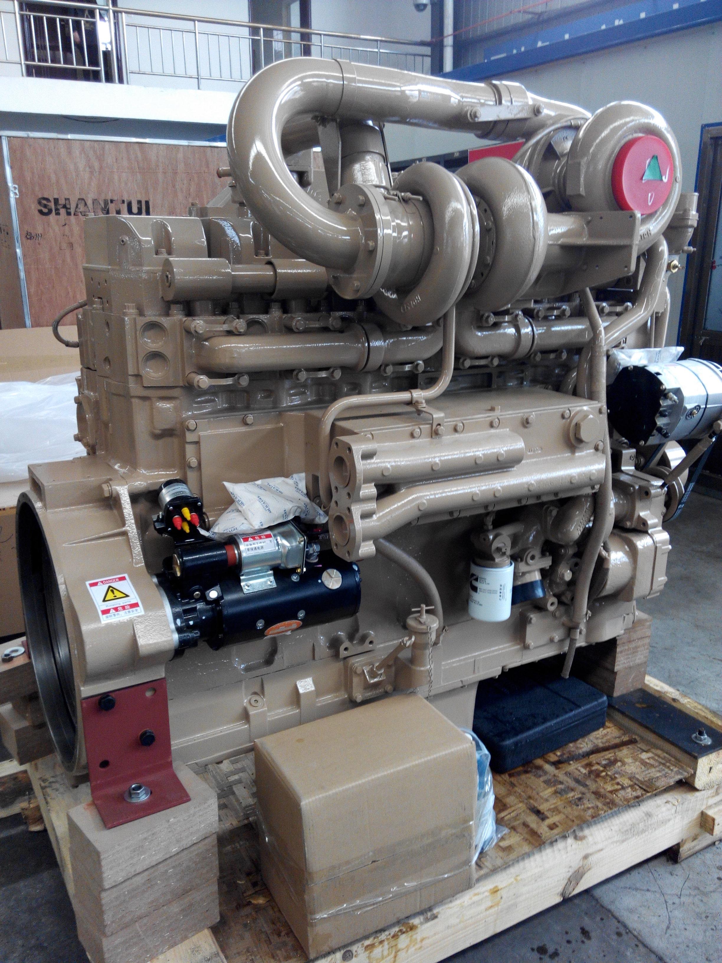 Original Cummins KTTA19 C700 Engine For Mining Dump Truck Belaz